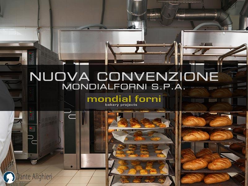 Nuova convenzione con Mondial Forni S.p.a.