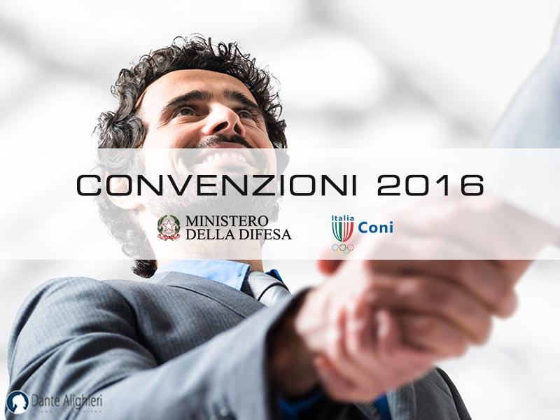 Nuove Convenzioni 2016
