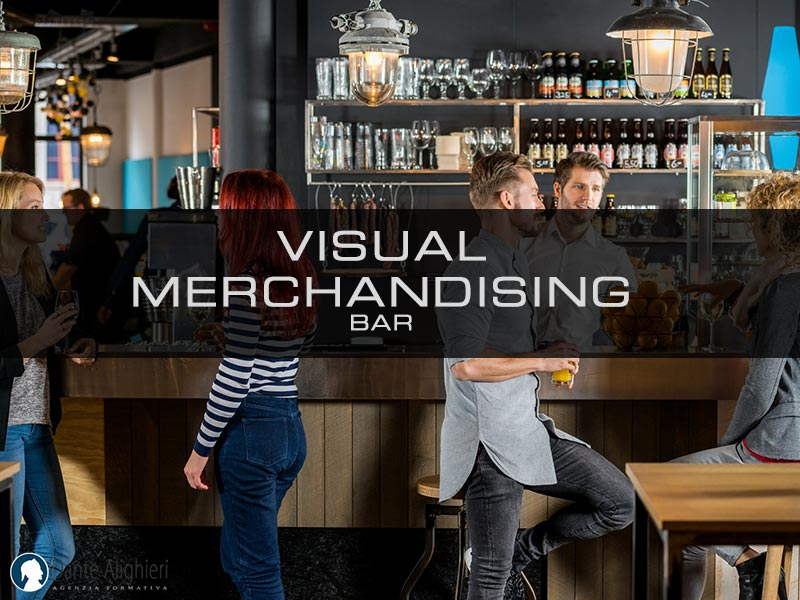 Tecniche di visual merchandising per bar