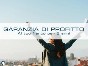 Scopri la nostra garanzia di profitto