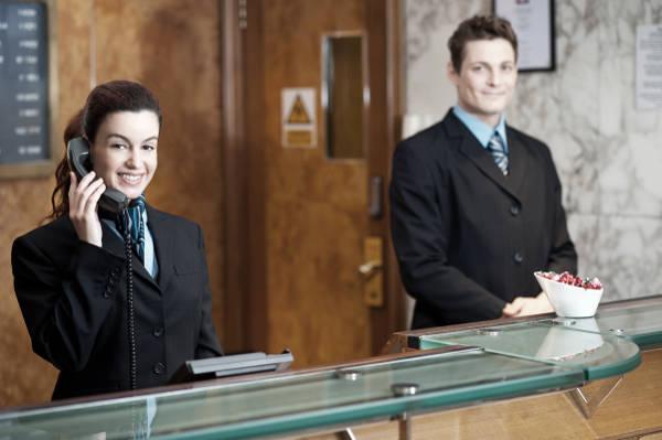 corso receptionist