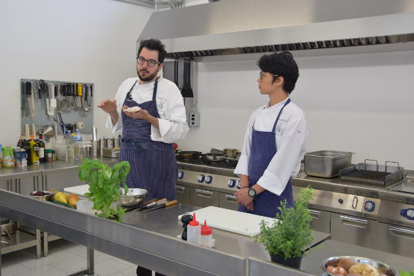 corso di cuoco - chef Ferrari